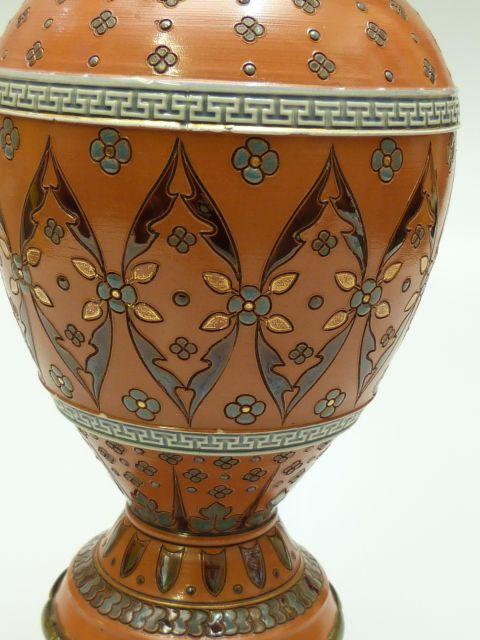 villeroy boch mettlach vase geritzt nr 1573. Black Bedroom Furniture Sets. Home Design Ideas